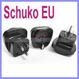 Schuko Europees Duitsland Frankrijk aan de de V.S. Aan de grond gezete Adapter van de Stop