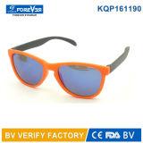 Estilo redondo del Mens de las gafas de sol de los niños del marco Kqp161190