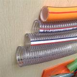 """3/8 """" PVC-gewundener Stahldraht-Schlauch"""