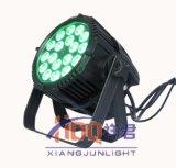 La IGUALDAD del LED puede encenderse con 18*18W 6in1 15W 5in1 impermeable