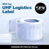 Estrangeiro passivo H3 RFID da etiqueta da freqüência ultraelevada da logística Printable