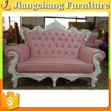Italiano dos o sofás de tres plazas de la tela de los muebles (JC-S71)