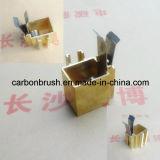 Supporto/mensola di rame della spazzola di carbone del ritrovamento per la spazzola di carbone del motore