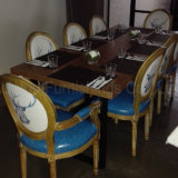 (SP-CS340) Style americano Restaurant Long Tables e Chairs Prices