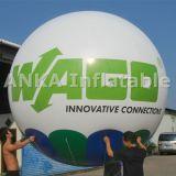 인쇄된 로고를 가진 주문을 받아서 만들어진 팽창식 PVC 풍선 광고