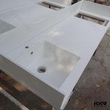 Длинний узкий искусственний мраморный Countertop Prefab Ktichen