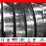 Tira de acero sumergida caliente del galvanizado de la anchura 100m m de Z80g galvanizada