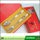 Handle en céramique Spoon/Knife et Forks Cutlery Set pour Promotion