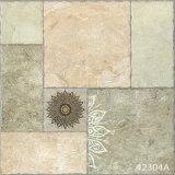 磁器の無作法な石造りの大理石の寄木細工の床の床タイル(600X600mm)