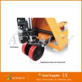 Pallet Jack della mano della pompa idraulica del Ce da 2.5/5 tonnellate/rotella gomma del camion
