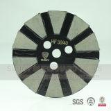 Истирательным подпертый велкроим абразивный диск чашки диаманта