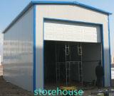 経済的なプレハブの倉庫の鋼鉄フレームワーク