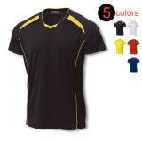 Подгоняйте рубашку тройника спорта личного тавра Quick-Dry для людей