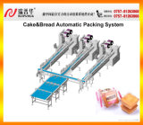 케이크/Bread Automatic Packing Machine 또는 Packing Line