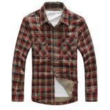 Camisa de vestido do inverno da forma dos homens os mais novos do projeto