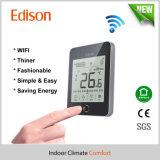 Thermostat de pièce de chauffage par le sol de WiFi de contact d'affichage à cristaux liquides