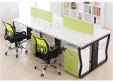 Werkstation van de Verdeling van het Bureau van 4 Personen van de manier het Groene Rechte (sz-WSL307)