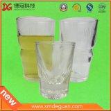 Taza de té plástica grande transparente para beber