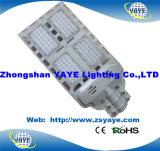 Yaye Warranty 3 Years 45mil Bridgelux Chips u. Meanwell Driver 120W LED Street Lights mit 14400lm (Available Watts: 12W-320W)