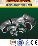 Garnitures de presse de l'acier inoxydable F304/316 réduisant le coude de 90 degrés