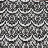 Merletto africano del tessuto di cotone della tessile dell'indumento di vendite calde