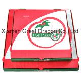 De witte Buiten en Natuurlijke/Doos van de Pizza van Kraftpapier Binnenlandse (CCB122)