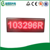 Outdoor P10 Red LED Scrolling Display Screen (P109632R)