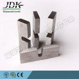 Il segmento del diamante di U la lama per sega per il taglio del granito
