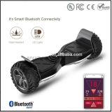 Scooter de équilibrage d'individu d'usine de la Chine, scooter intelligent d'équilibre avec l'éclairage LED