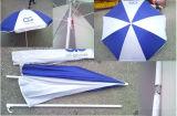 Ombrello di spiaggia su ordinazione antivento di marchio di promozione - Sy1801