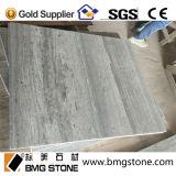 Tuile décorative intérieure de marbre en bois bleu de grain de la Chine