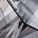de recentste Europese Tribune van TV van het Glas van het Ontwerp Moderne met Roestvrij staal