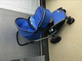 2016 новый тип 3 в 1 прогулочной коляске младенца с сертификатом En1888