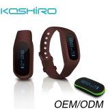 OLED Sillcone Bluetoothのスポーツの手首のブレスレットの腕時計