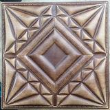 Panneau de mur en cuir d'unité centrale du luxe 3D pour la décoration (HS-MK014)