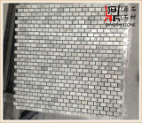 Мозаика Guangxi естественных белых мраморный слябов белая мраморный для плитки и настила стены