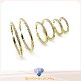 جديدة تصميم مجوهرات 925 جنيه إسترليني شظية قطرة شكل حلق [إ6701]