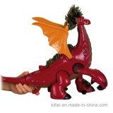 Jouet de plastique de dragon de vinyle de dessin animé estampé par usine chinoise de décoration de festival
