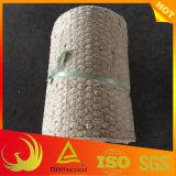 金網が付いている石造りのウールの断熱毛布材料