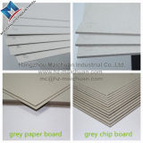 Tarjeta de viruta gris laminada papel reciclada sin recubrimiento del atascamiento de libro