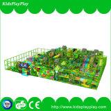 Patio suave de interior grande de la nueva selva del diseño con el parque del trampolín