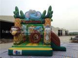 Bouncer inflável da casa inflável do salto da selva para o miúdo