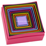 Cadre de empaquetage personnalisé de carton d'impression de cadeau rigide de papier