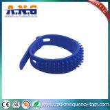 Wristbands del silicone del chip Monza4 e M1 RFID di controllo di accesso