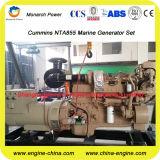 générateur 200kw/250kVA diesel marin par Cummins Nta855-Dm à 50Hz