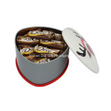 각종 Types Chocolate 또는 Cookies/Candy/Tea Packaging Gift Tin Box Triangle Metal Tin Box