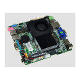 Intel® 1037u bettete Nano Motherboard-Unterstützungs-VGA-/HDMI/Lvds Doppelbildschirmanzeige ein