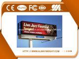 Visualización de LED al aire libre P8 del brillo SMD de Abthigh