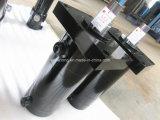 Cilindro hidráulico temporario doble para las plataformas de perforación rotatorias