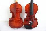 Violon avancé solide d'usine d'instrument de musique en gros de fournisseur